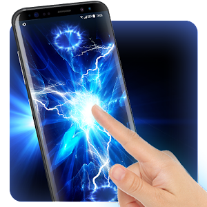 Electric Screen for Prank Live Wallpaper &ampLauncher