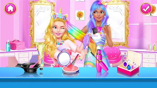 Girl Games: Hair Salon Makeup Dress Up Stylist 1.5 Screenshots 7