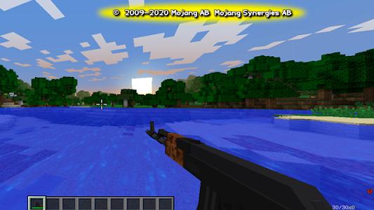 Gun mod for Minecraft version 2