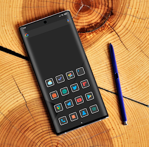 Flat Dark Square - Icon Pack 2.2 (Patched)