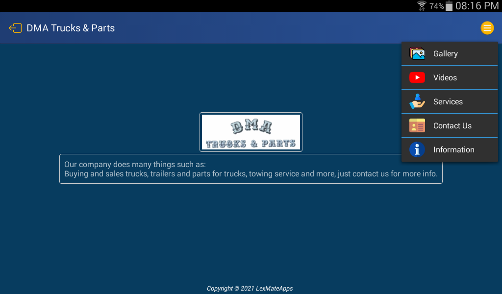 DMA Trucks & Parts screenshot 8