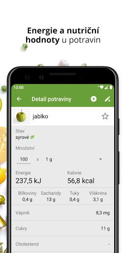 Kaloricku00e9 Tabulky u2013 hubnutu00ed a pou010du00edtu00e1nu00ed kaloriu00ed android2mod screenshots 5