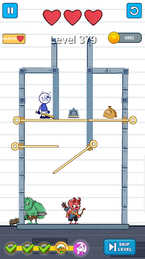 Pencil Boy - Pull The Pin, Rescue Princess 0.8 screenshots 9