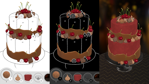 Cake Coloring 3D  Pc-softi 13