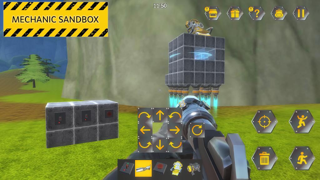 Evercraft Mechanic: Online Sandbox from Scrap poster 3