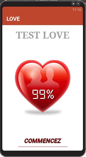 Test love screenshot 2