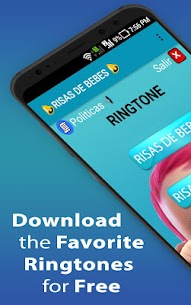 Funny Baby Laughing Ringtones 1.1 Download APK Mod 1