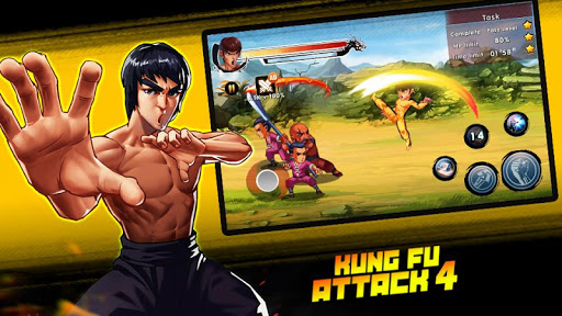 Kung Fu Attack 4 - Shadow Legends Fight 1.2.8.1 screenshots 10