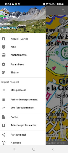 GPS for Hiking, Cycling, Hunting and offline maps modavailable screenshots 6