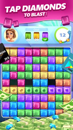 Lucky Diamond u2013 Jewel Blast Puzzle Game to Big Win 1.1.30 Screenshots 5