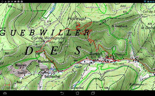 Visorando GPS randonnu00e9e 3.0.6+ Screenshots 16