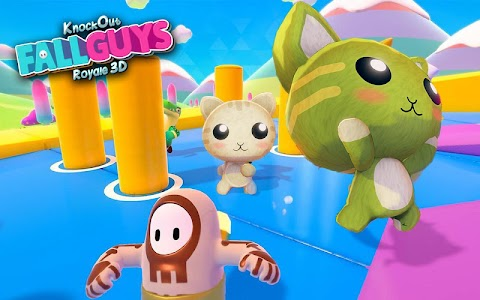 Knockout Fall Guys Royale 3D: Human Knock Over 1.0.4