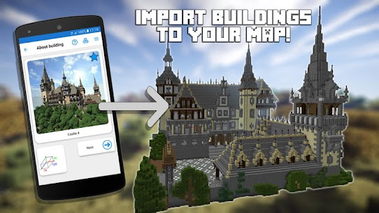 Builder PRO for Minecraft PE (MOD, Paid) v15.3.0 1