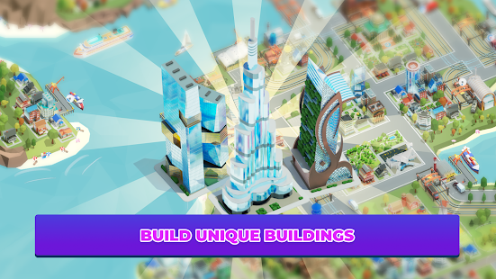 Idle Delivery City Tycoon: Cargo Transit Empire