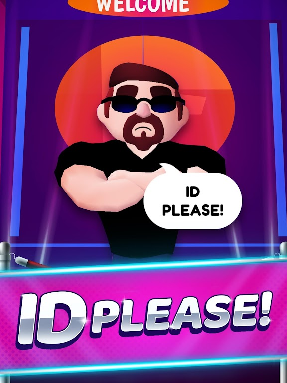 ID Please - Club Simulation poster 1