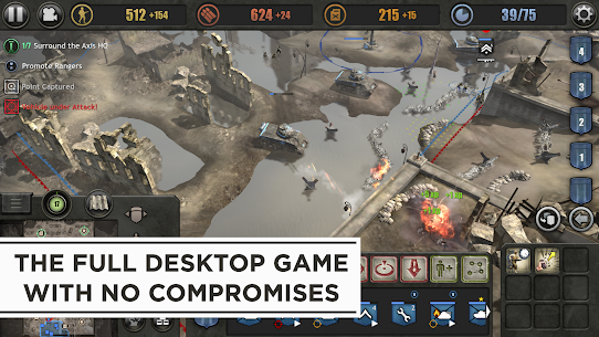 Company of Heroes Apk Mod + OBB/Data for Android. 7