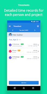 Hubstaff time clock app
