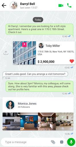 Real Estate Messenger 3.1.3 Screenshots 1