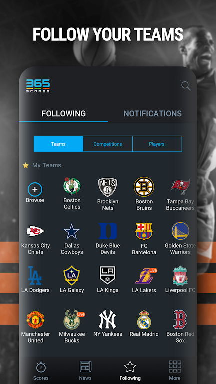 365Scores: Live Scores & Sports News poster 5