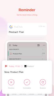 TickTick: ToDo List Planner, Reminder & Calendar 6.0.4.1 Screenshots 4
