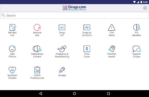 Drugs.com Medication Guide 2.12.1 Screenshots 9
