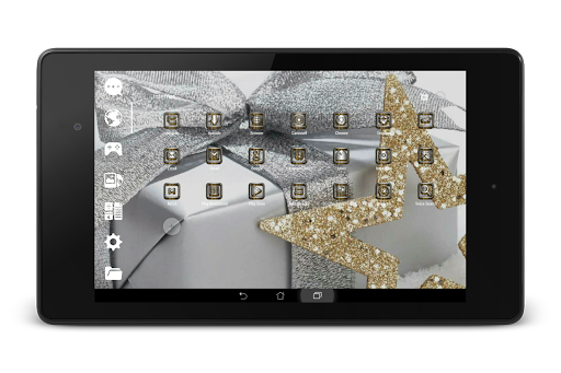 SilverGold 3D Icon CM&Launcher For PC Windows (7, 8, 10, 10X) & Mac Computer Image Number- 20