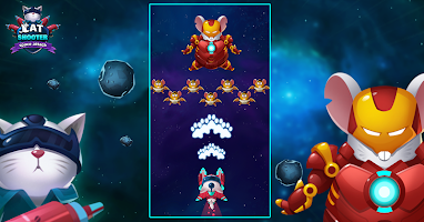 Cat Invaders -  Galaxy Attack Space Shooter