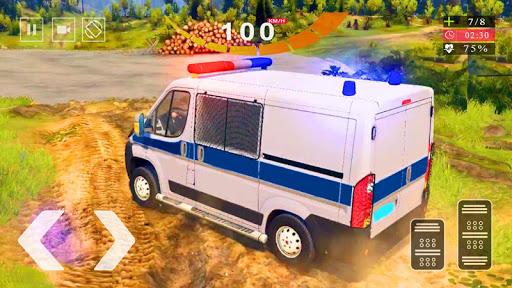 Police Van Gangster Chase - Police Bus Games 2020  screenshots 3