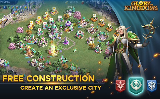 Glory of Kingdoms apkpoly screenshots 3