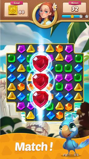Gems Voyage - Match 3 & Jewel Blast apkdebit screenshots 4