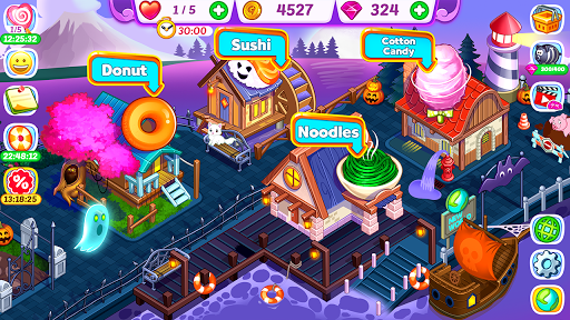 Halloween Madness : Cooking Games Food Fever apkslow screenshots 12