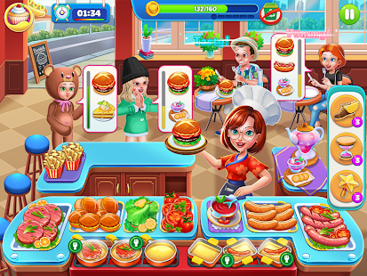 Kitchen Diary: Food & Cooking Games for Girls 2020 Screenshot
