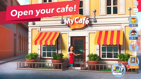 My Cafe — Restaurant Game. Serve & Manage 2021.4 Apk + Data 1