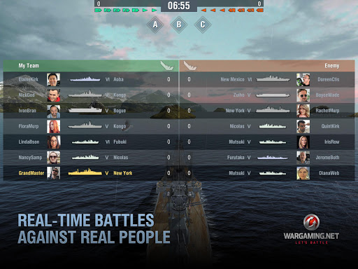 World of Warships Blitz: Gunship Action War Game 4.0.1 Screenshots 11