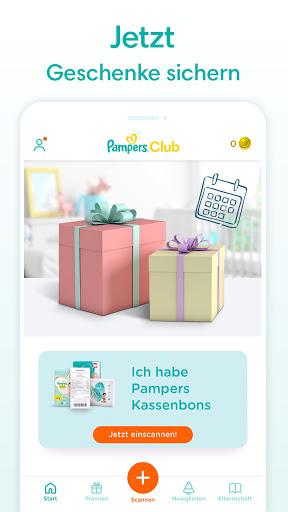 Pampers Club Treueprogramm u2013 jetzt Pru00e4mien sichern 3.27.0 Screenshots 5