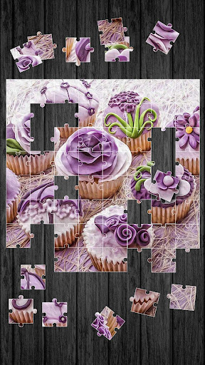 Cupcakes Jigsaw Puzzle Game For PC Windows (7, 8, 10, 10X) & Mac Computer Image Number- 8