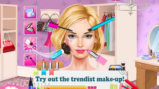 Beauty Salon - Back-to-School Makeup Games