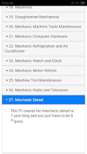 ITI Courses List 5