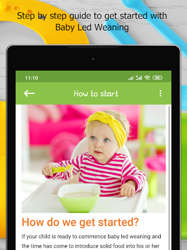 Baby Led Weaning - Guide & Recipes 2.6 Screenshots 16