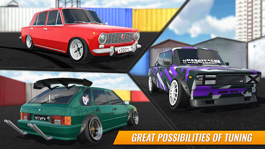 Russian Car Drift 1.8.14 Apk + Mod + Data 2