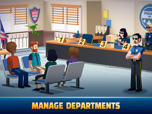 Idle Police Tycoon - Cops Game 1.2.1 screenshots 8