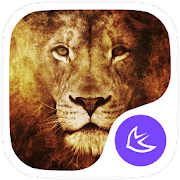 Animal King Lion theme-APUS Launcher