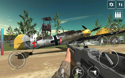 Call Of Courage : WW2 FPS Action Game 1.0.13 screenshots 8