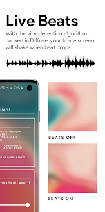 Diffuse – Apple Music Live Wallpaper 📀 (MOD APK, Paid) v0.9.1.0 3