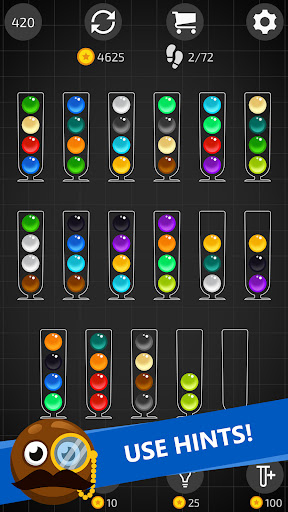 Ball Sort Master with Hints apktreat screenshots 2