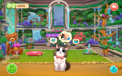 Kitten Match-Mansion & Pet Makeover  screenshots 12