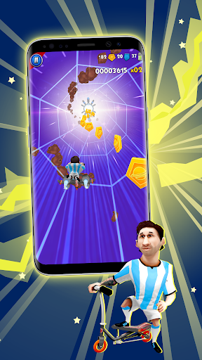 space scooter game screenshot 2