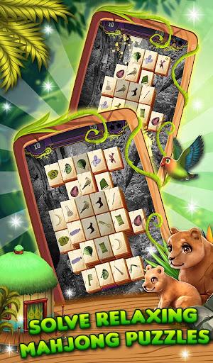 Mahjong Animal World - HD Mahjong Solitaire screenshots 5