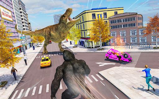 Crazy Gorilla GT Rampage-Superhero Mega Ramp Stunt apkdebit screenshots 4