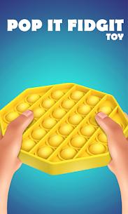 Pop It Sensory Fidget cube toys 3d Anxiety Relief 1